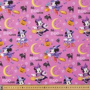 Disney Halloween Minnie Mouse Cotton Fabric