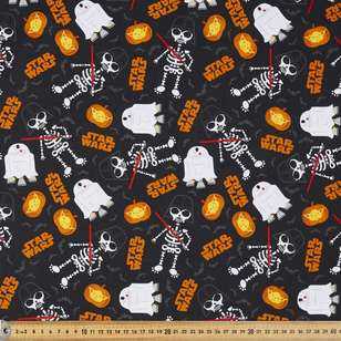 Disney Halloween Star Wars Cotton Fabric
