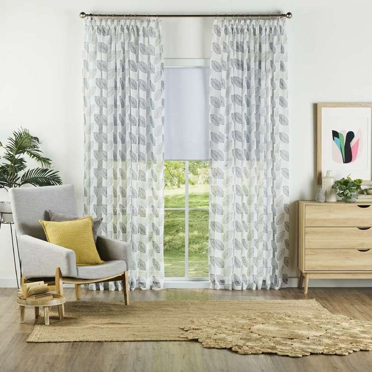 Gummerson Cannes Pencil Pleat Sheer Curtains
