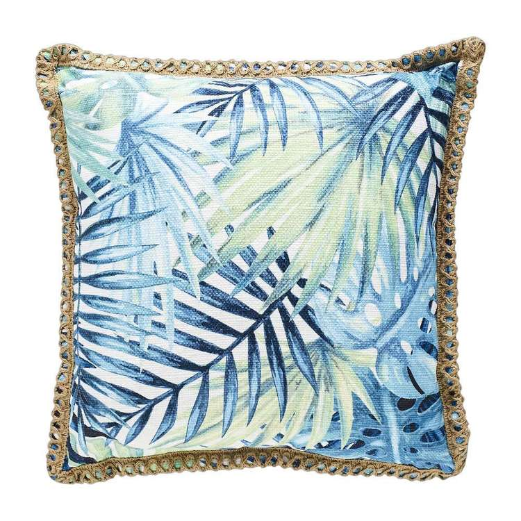 Koo Home Tropics Leaf Printed Cushion
