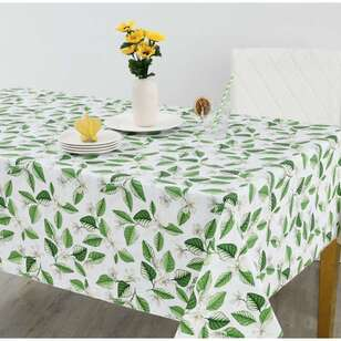Living Space Florali Flannel Back Tablecloth