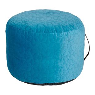 Living Space Ibiza Velvet Ottoman