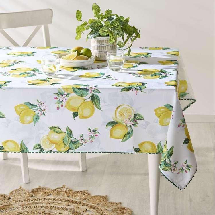 Koo Home Limone Printed Tablecloth