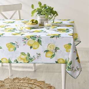 Koo Home Limone Printed Tablecloth