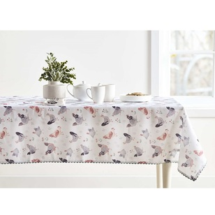 Koo Home Cluck Printed Tablecloth
