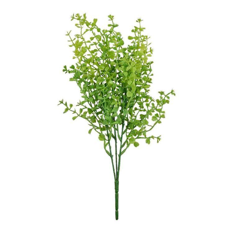 Soft Finish Mini Leaf Bush