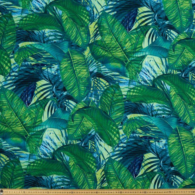 Palm Printed Rayon Fabric