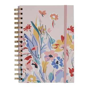 Francheville Summer Life Hard Cover Spiral Notebook