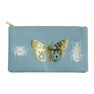 Francheville Summer Life Butterfly PU Pencil Case