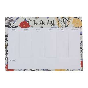 Francheville Summer Life Floral Keyboard Weekly Planner
