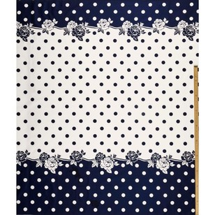 Gertie Trailing Spot Printed Cotton Sateen Fabric