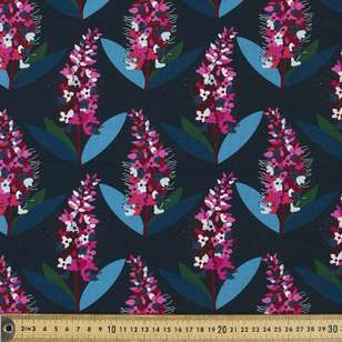 Jocelyn Proust New Zealand Hebe Crimson Fabric