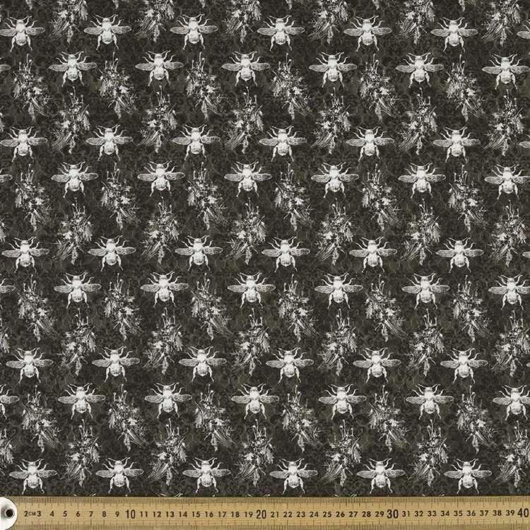 Studio E Bee Sweet Chalk Bee Cotton Fabric