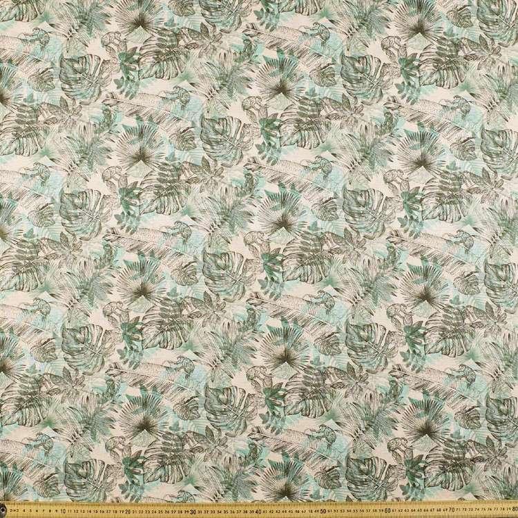Monkey Magic Printed Cotton Linen Fabric
