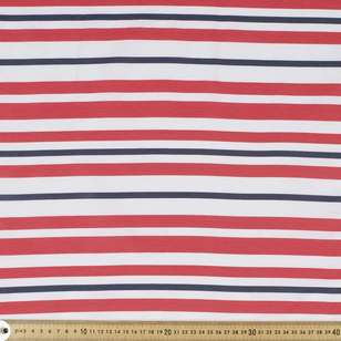 Nautical Stripe Weather Proof Canvas Fabric
