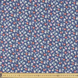 Blue Dayz Printed Mix n Match Fabric