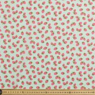 Strawberries Ball Printed Mix n Match Fabric
