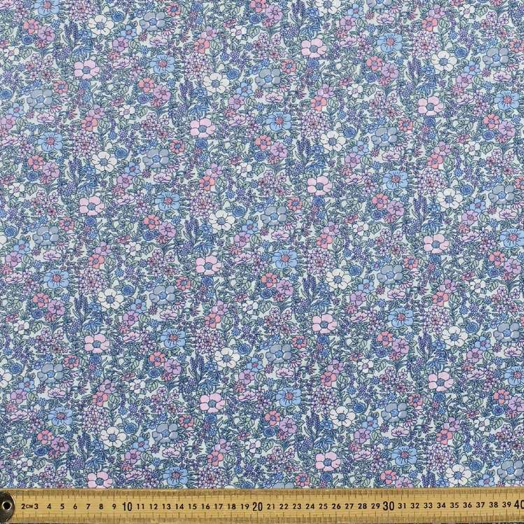 English Garden Printed Mix N Match Cotton Polyester Fabric
