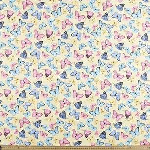 Butterfly Ball Printed Mix n Match Fabric