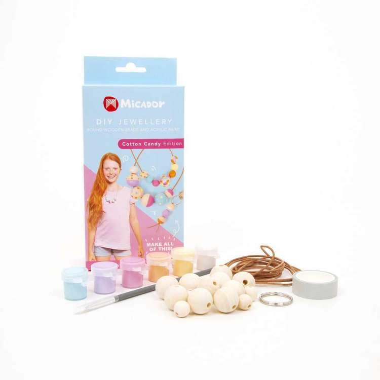 Micador DIY Cotton Candy Jewellery Kit