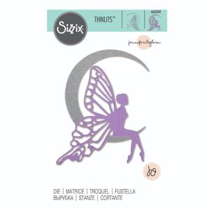 Sizzix Thinlits Jennifer Ogborn Fairy Moon Die Set 5 Pack