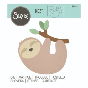 Sizzix Bigz Sloth Die Set