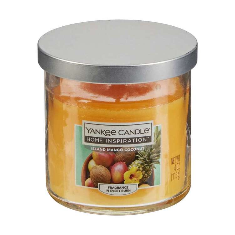 Yankee Candle Island Mango Coconut Candle Jar