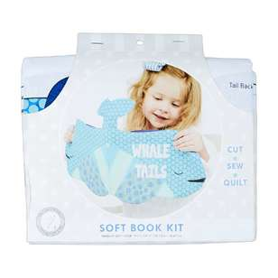 Whale Tails Soft Book Kit
