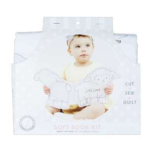 Little Lamb Soft Book Kit