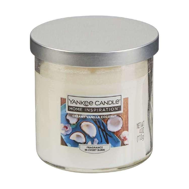 Yankee Candle Creamy Vanilla Coconut Candle Jar