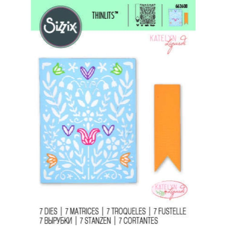 Sizzix Thinlits Art Stencil Die Set