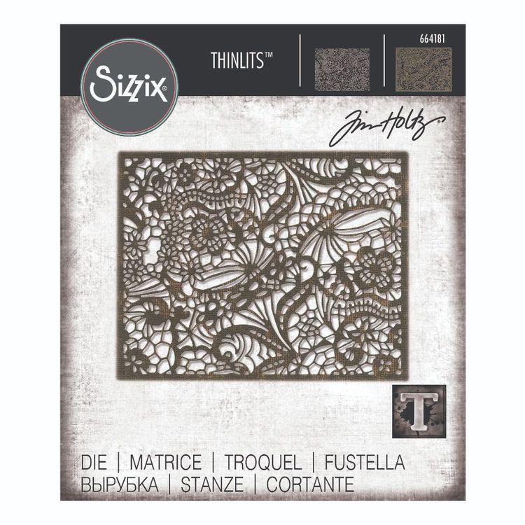 Sizzix Thinlits Tim Holtz Intricate Lace Die Set