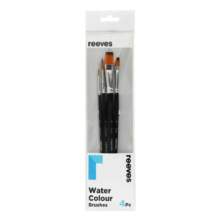 Reeves Golden Handle 4 Pack Watercolour Brush Pack