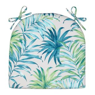 Living Space Tropicana Printed Chair Pads 2 Pack