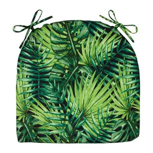 Living Space Tropics Printed Chair Pads 2 Pack