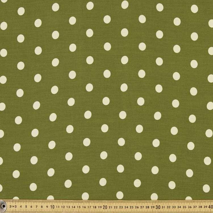 Spot Printed Rayon Fabric