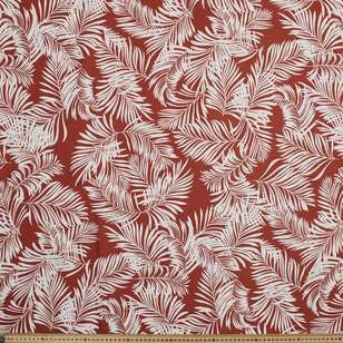 Fern Printed Cotton Linen Fabric