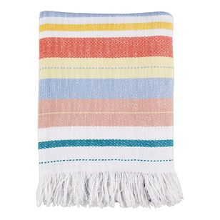 Koo Home Darcy Woven Stripe Throw
