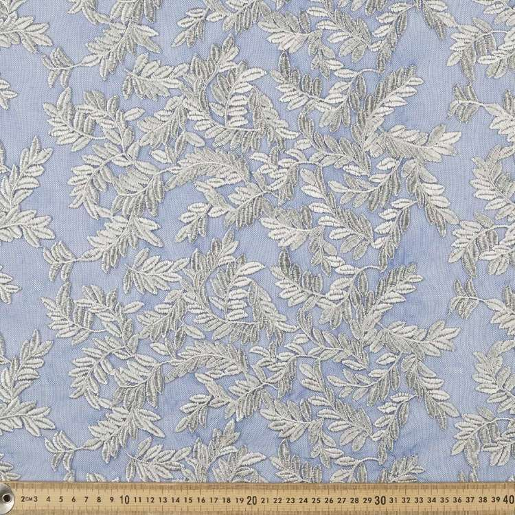 Embroidered Tulle Fabric