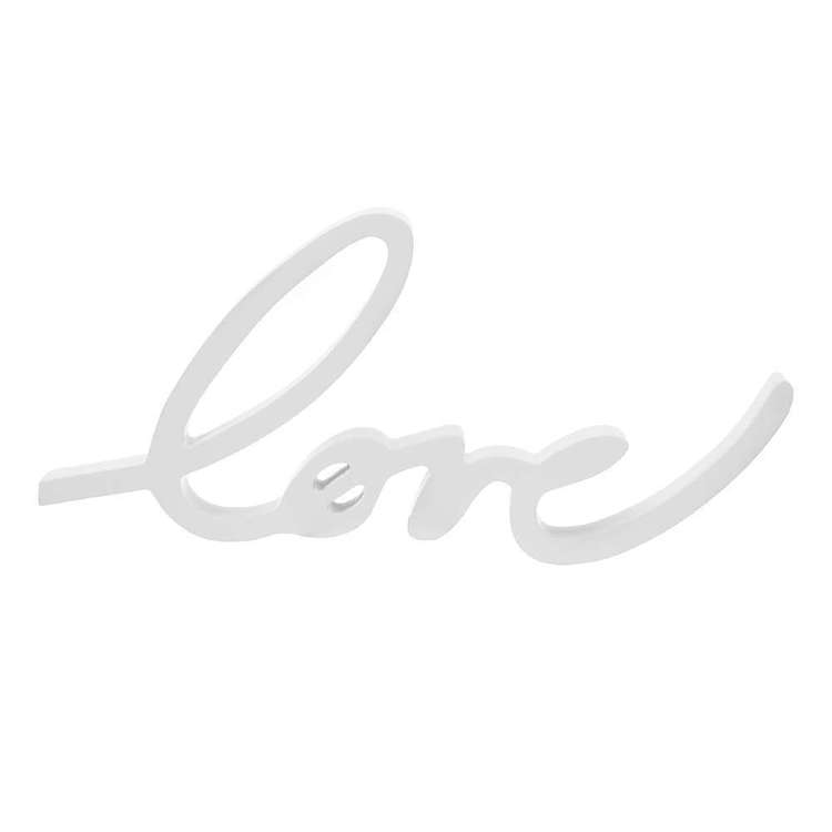 Bouclair Calm Moment MDF Love Sign