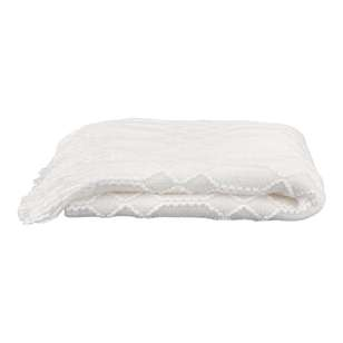 Bouclair Frozen Fancy Stich Throw
