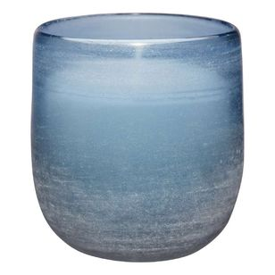 Bouclair Frozen Sand Blast Candle Jar