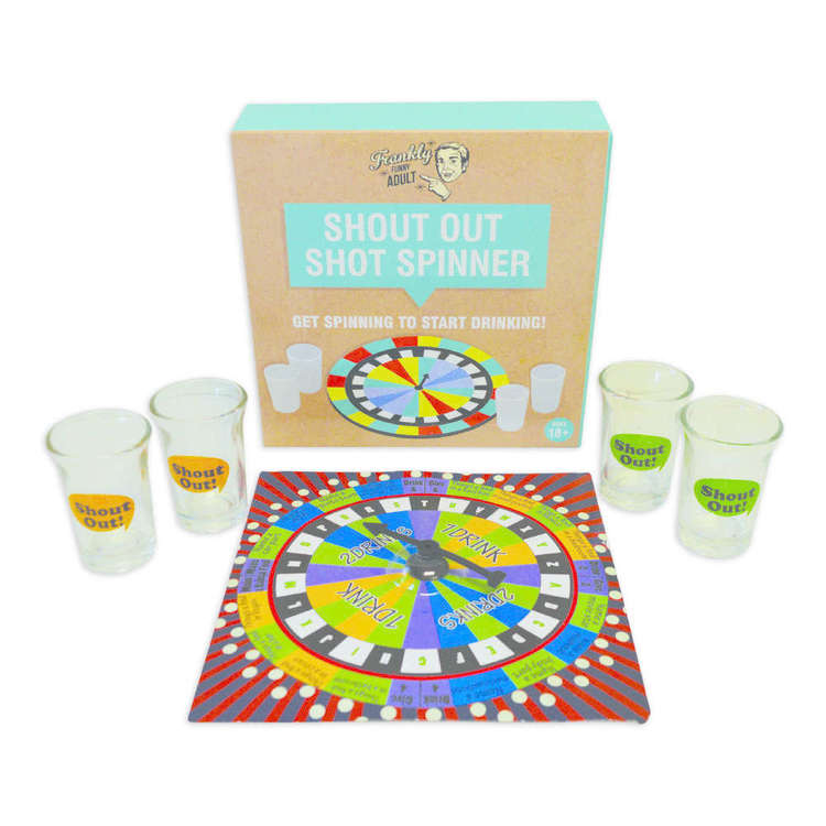Shout Out Shot Spinner