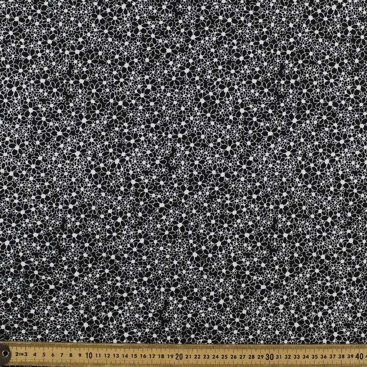 Mix Monotones Daisy Cotton Fabric