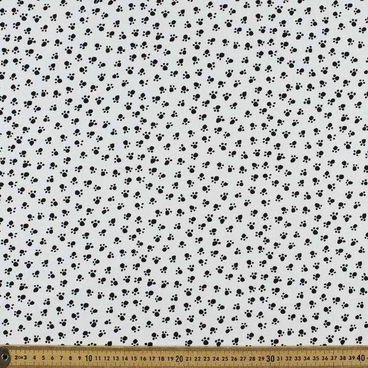 Mix Monotones Paw Cotton Fabric