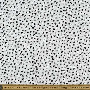 Mix Monotones Paw Cotton Fabric