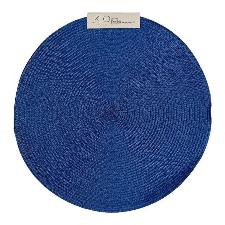 Koo Home Oran Round Placemat 2 Pack