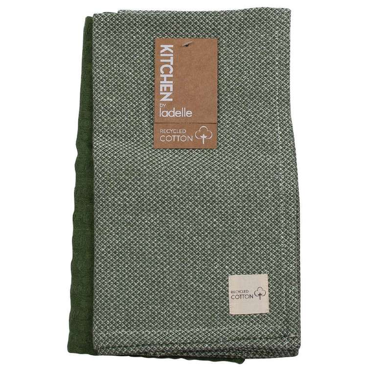 Kitchen By Ladelle Terra Cotton Tea Towel 2 Pack