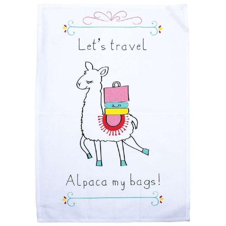 Kitchen By Ladelle Alpaca Tea Towel