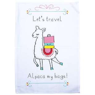 Kitchen By Ladelle Alpaca Tea Towel